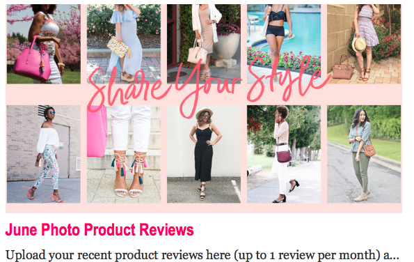 JustFab Brand Ambassadors Site Feature #2