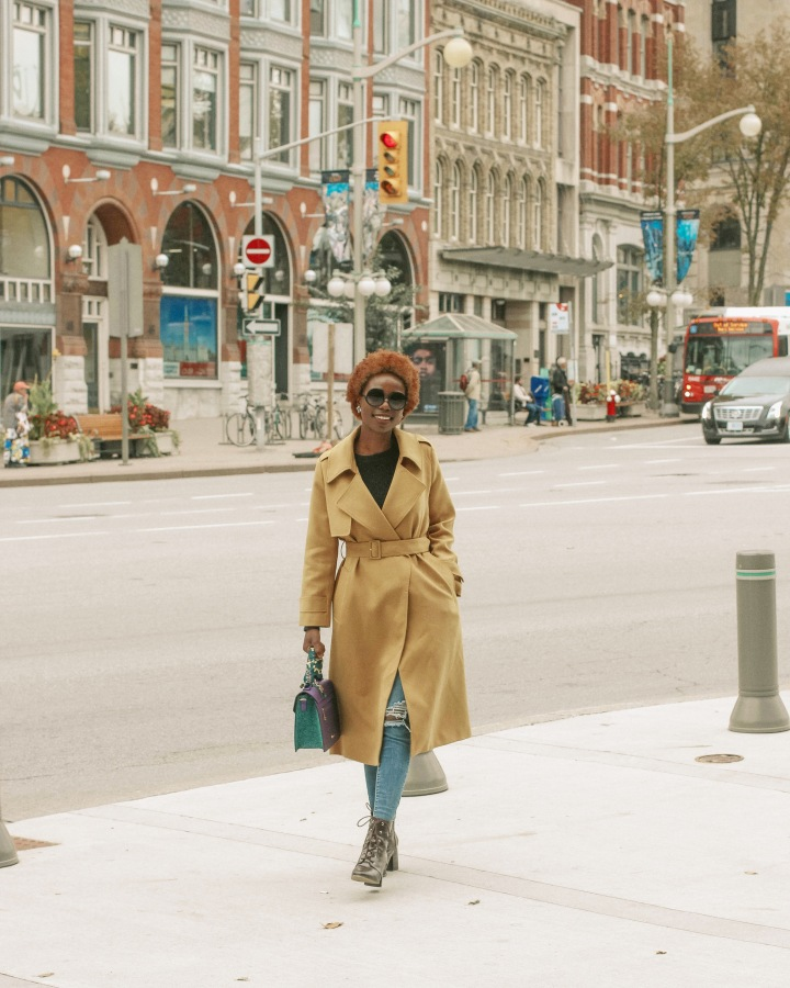 NEW FAV – YELLOW TRENCH COAT
